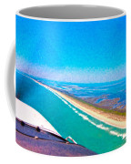 Tiny Airplane Big View II Coffee Mug