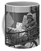 Tiny Biker 2 Monochrome Coffee Mug