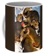 Tiny Bunnies Coffee Mug