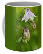 Tiny Floral Swans And Cygnets Coffee Mug