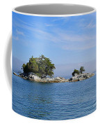 Tiny Island Off Vancouver Island Coffee Mug