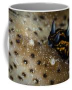 Tiny Nudibranch On Sea Cucumber Coffee Mug