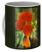 Tiny Orange Flower Coffee Mug