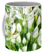Tiny White Flowers Coffee Mug