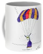 Tis Just Dropping In Coffee Mug