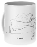 Tis Manflu Coffee Mug