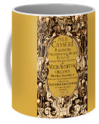 Title Page, Giulio Casserios Anatomy Coffee Mug by Science Source