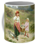 To Market To Buy A Fat Pig Coffee Mug by Edwin Thomas Roberts