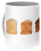 Toasting Bread Coffee Mug by Photo Researchers, Inc.