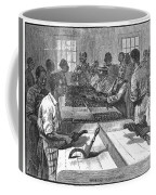 Tobacco: Twisting, 1879 Coffee Mug