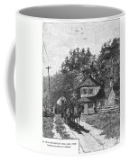 Toll Gate, 1879 Coffee Mug