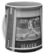 Tom Seaver 41 In Black And White Coffee Mug