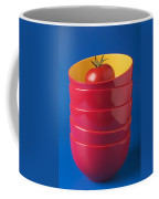 Tomato In Stacked Bowls Coffee Mug by Garry Gay