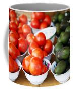 Tomato Y Avacado Coffee Mug