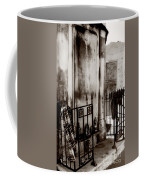 Tomb Famille Perrault Black And White Coffee Mug
