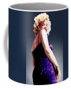 Too High To Climb - Monroe Coffee Mug by Reggie Duffie