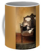 Top Hat And Cane On Sofa Coffee Mug