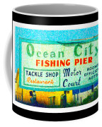 Topsail Island Old Sign Coffee Mug
