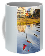 Topsail Sound Sunset Coffee Mug by Betsy Knapp