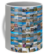 Topsail Visual Contemporary Quilt Series IIi Coffee Mug