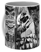 Totem Poles On Vancouver Island Coffee Mug