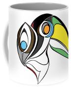 Toucan And Company On White Coffee Mug