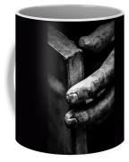 Touching The Book Coffee Mug