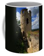 Tour Du Moulin At Chateau Chinon Coffee Mug