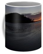 Tow Hill And North Beach At Sunset Coffee Mug