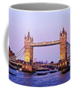 Tower Bridge In London At Dusk Coffee Mug