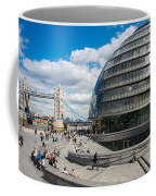 Tower Bridge With City Hall Coffee Mug