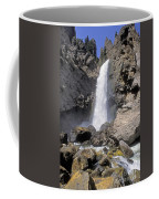 Tower Fall Of Yellowstone Coffee Mug