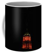 Tower Life Building At Night Coffee Mug