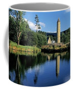 Tower Near A Lake, Round Tower, Ulster Coffee Mug