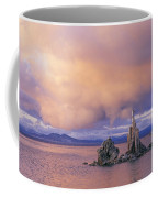 Towers Of Calcium Carbonate Called Tufa Coffee Mug