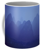 Towers Of Stone, Guilin, China Coffee Mug