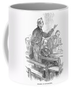 Town Meeting, 19th Century Coffee Mug