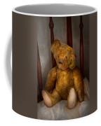 Toy - Teddy Bear - My Teddy Bear  Coffee Mug by Mike Savad