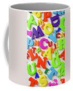 Toy Letters Coffee Mug
