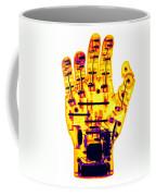 Toy Robotic Hand X-ray Coffee Mug
