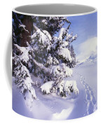 Tracks In The Snow Coffee Mug