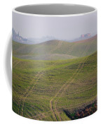 Tracks On The Field Coffee Mug