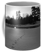 Tracks To The Water Coffee Mug