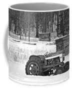 Tractor At The Mill  Coffee Mug
