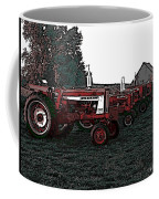 Tractor Row Coffee Mug