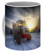 Tractor Sunrise Coffee Mug