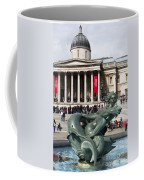 Trafalgar Square With Fountain Coffee Mug