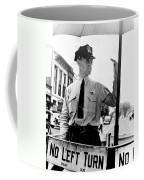 Traffic Cop, 1936 Coffee Mug
