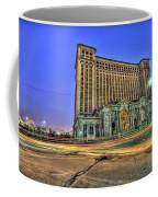 Michigan Central Train Depot Station Detroit Mi Coffee Mug