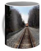 Train Head On Coffee Mug